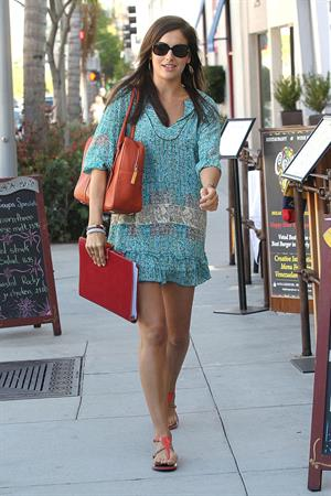 Camilla Belle - Lunch at Coupa Cafe - September 18, 2012