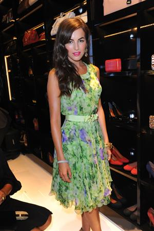 Camilla Belle - The Shutz Shoe Store Launch - New York - September 5, 2012