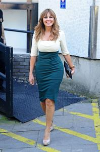 Carol Vorderman at London Studios - September 13, 2012