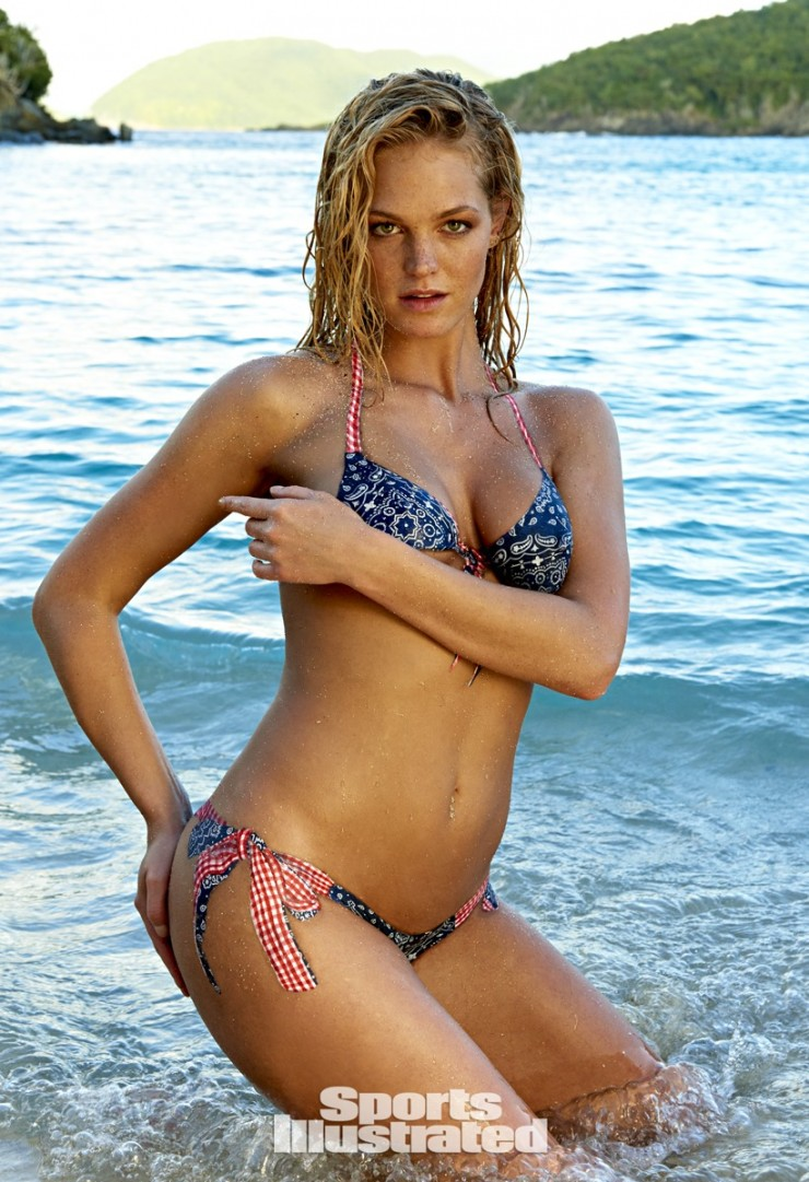 Erin Heatherton Sports Illustrated 2015 - Body Paint