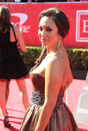 Cheryl Burke arrives at the 2012 ESPY Awards at Nokia Theatre L.A. Live on July 11, 2012 in Los Angeles, California
