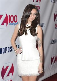 Cher Lloyd Z100's Jingle Ball presented by Aeropostale 12/7/12