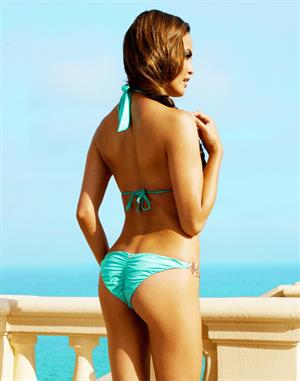 Christine Chrissy Teigen Beach Bunny Photoshoot 2012