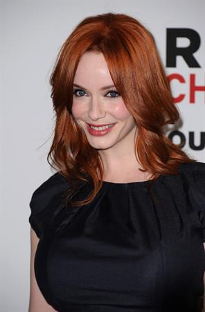 Christina Hendricks Critics Choice Television Awards luncheon at Beverly Hills Hotel on June 20, 2011