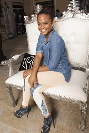 Christina Milian Bellafortuna Luury Gift Suite -  Posing Heroes  Portraits, September 17, 2013