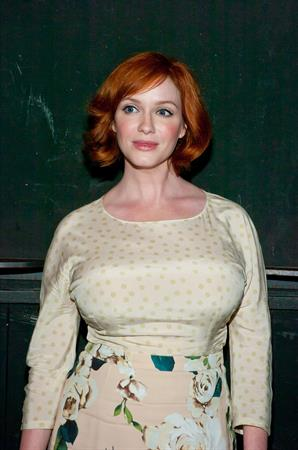Christina Hendricks  Everything Is Ours  Opening Night - After Party, September 3, 2013