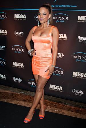 Christina Milian - The Pool After Dark at Harrah's Resort in Atlantic City (May 27, 2012)