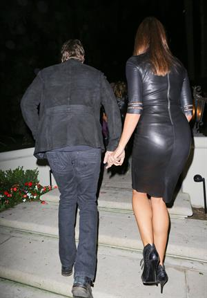Cindy Crawford Attending A Halloween Party In Beverly Hills - October 26, 2012