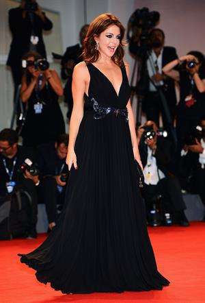 Claudia Gerini  Superstar  Premiere - The 69th Venice Film Festival (August 30, 2012)