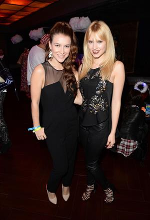 Claudia Lee Fresh-Tops #SELENATORHEAVEN Selena Gomez Concert Viewing Party (November 6, 2013)