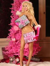 Courtney Stodden - Pink Christmas Photoshoot 2012