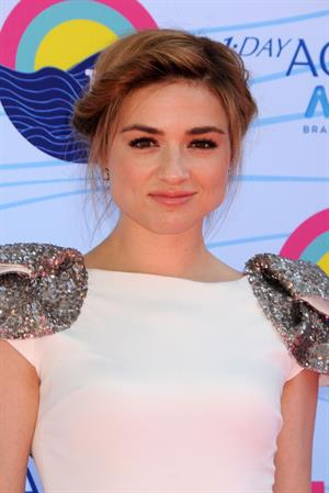 Crystal Reed - 2012 Teen Choice Awards in Universal City (July 22, 2012)