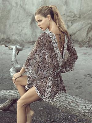 Danielle Knudson delicious for Zeugari swimwear/beachwear 2011 Zeugari swimwear/beachwear line