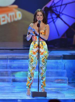 Danna Garcia Premios Juventud (July 18, 2013)
