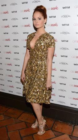 Debby Ryan Vanity Fair campaign DJ night with L'Oreal Paris 2/19/13