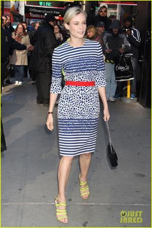 Diane Kruger at GMA studios in NYC