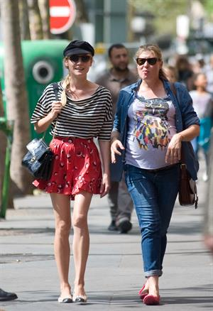 Diane Kruger - Out And About In Paris on August 20, 2012