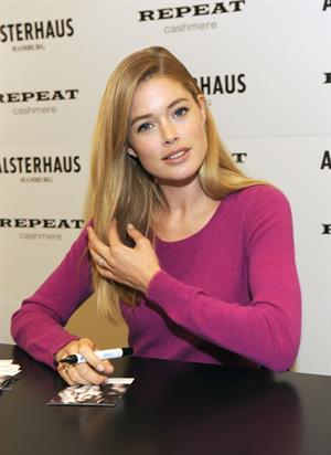 Doutzen Kroes launches ''Repeat by Doutzen'' Fashion Collection in Hamburg October 6, 2012