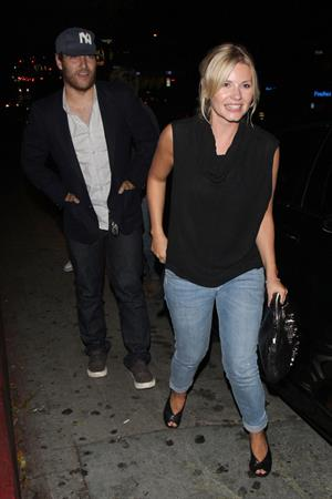 Elisha Cuthbert - Arriving to the Chateau Marmont with a mystery male companion in West Hollywood - August 2, 2012