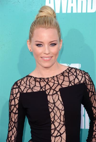 Elizabeth Banks - MTV Movie Awards at Universal Studios, Arrivals - June 3, 2012