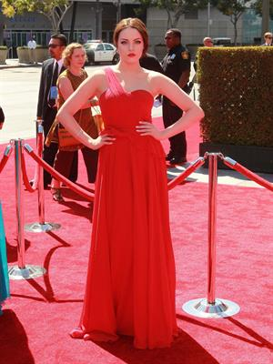 Elizabeth Gillies - Primetime Emmy Awards in LA Sept 15, 2012