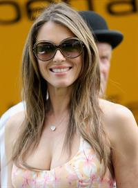 Elizabeth Hurley at Betfair Weekend King George Day in Ascot 27.07.13