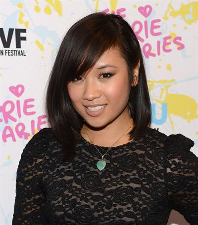 Ellen Wong  The Carrie Diaries  Premiere - Opening Night - 2012 New York Television Festival, Oct 22, 2012