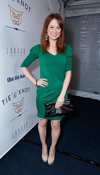 Ellie Kemper Tie The Knot Charity Launch Benefit in West Hollywood - November 14, 2012
