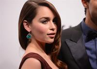 Emilia Clarke amfAR New York Gala To Kick Off Fall 2013 Fashion Week, Feb 6, 2013