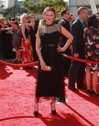Emily Deschanel - Creative Arts Emmy Awards 9/15/12