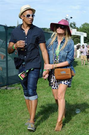 Emma Bunton - V Festival at Hylands Park in Chelsmford - August 18, 2012