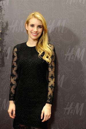 Emma Roberts – H&M Store Opening in New Orleans 11/15/13