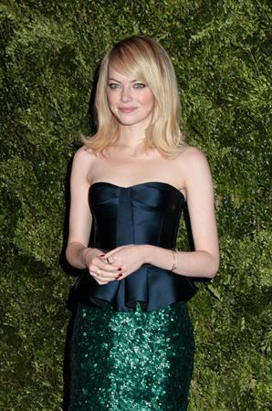 Emma Stone 9th Annual CFDA/Vogue Fashion Fund Awards (November 13, 2012)