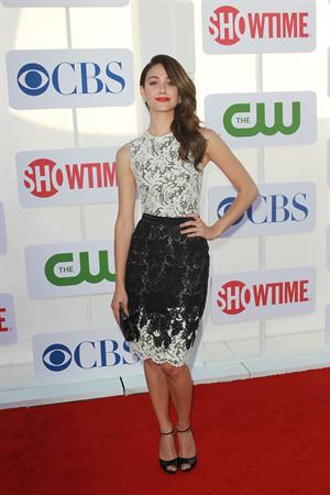 Emmy Rossum - CBS, Showtime and The CW Party during 2012 TCA Summer Tour in Beverly Hills, Jul. 29, 2012