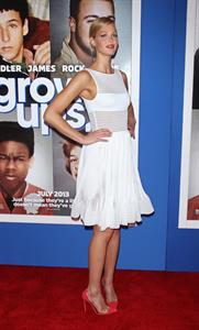 Erin Heatherton  Grown Ups 2  New York Premiere on July 10, 2013