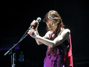 Fiona Apple - Performing at the Hollywood Palladium - July 29, 2012