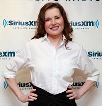 Geena Davis Visits SiriusM Studio in New York - October 22, 2012