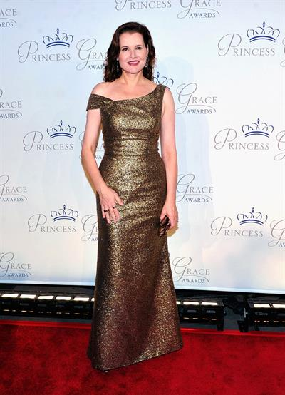 Geena Davis 22th Anniversary Princess Grace Awards Gala on October 10, 2012