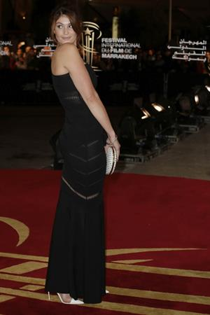 Gemma Arterton Marrakech International Film Festival - 'Tribute To Hindi Cinema', Dec 1, 2012