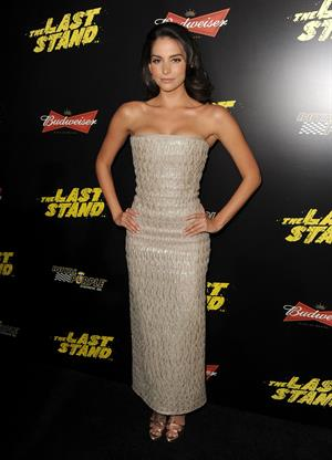 Genesis Rodriguez  The Last Stand  - Los Angeles Premiere, Jan 15, 2013