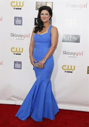 Gina Carano 18th Annual Critics' Choice Movie Awards, Jan 10, 2013