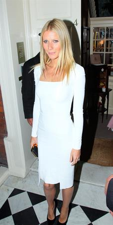 Gwyneth Paltrow - Dinner fundraiser for the campaign of Barack Obama on September 19, 2012