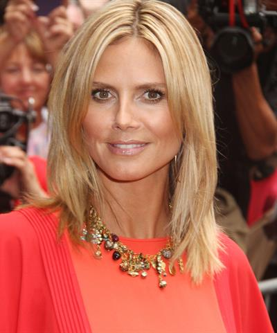 Heidi Klum - Interview for 'Good Morning America' Times Square New York on September 4, 2012