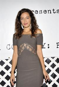 Vanessa Lengies - Chuck Connelly Art Opening at Trigg Ison Fine Arts -- Los Angeles, Oct. 29, 2009