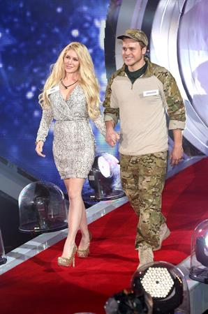 Heidi Montag Celebrity Big Brother in Barehamwood on January 3, 2013