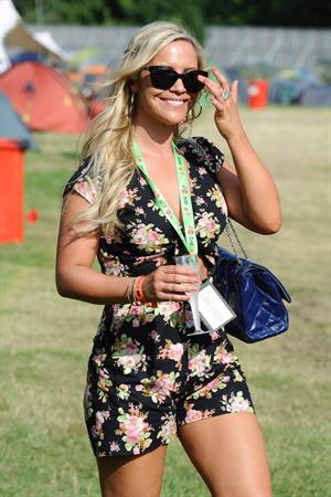 Heidi Range - V Festival at Hylands Park in Chelsmford - August 18, 2012