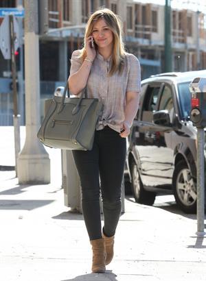 Hilary Duff in LA 1/18/13