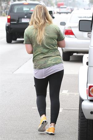 Hilary Duff in Hollywood - August 23, 2012