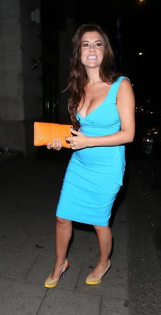 Imogen Thomas - Novikov restaurant in London - August 18, 2012