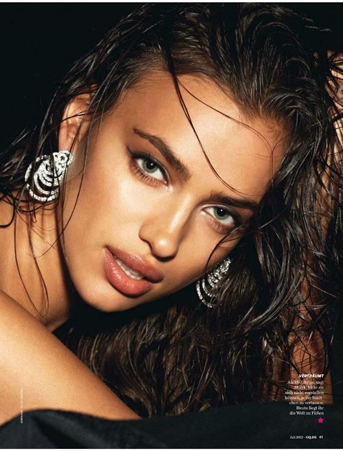 Irina Shayk GQ Magazine Germany July 2012